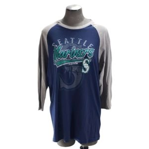 [Genuine Merchandise] Seattle Mariners Raglan Tee